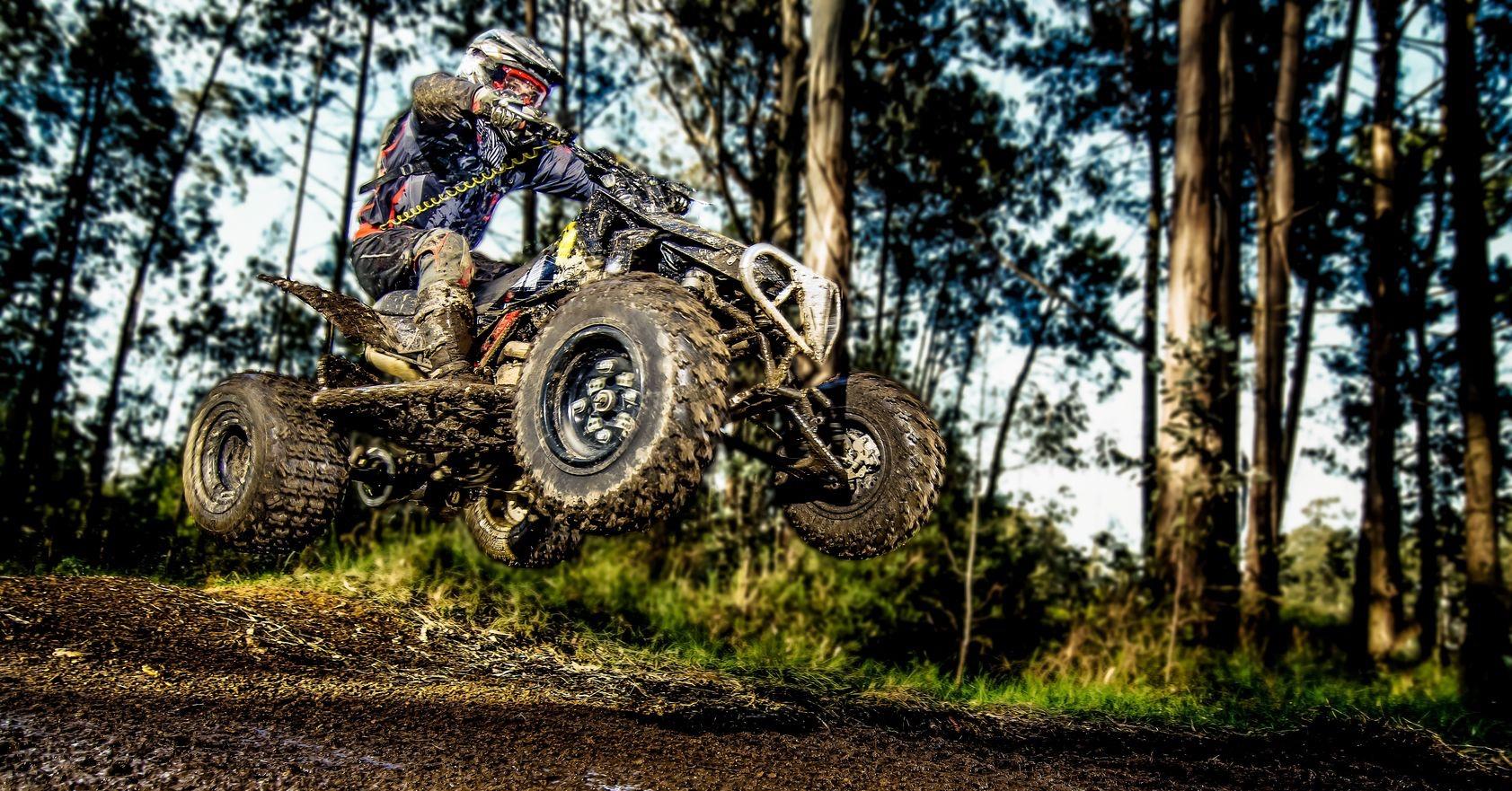 ATV Trail Riders using the RokPak Pioneer Series