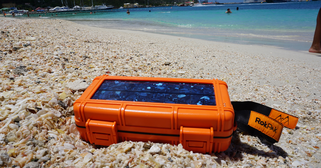 beach accessories like the RokPak are a perfect all in one solution
