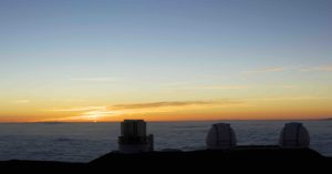 Mauna Kea Sunset Hawaii