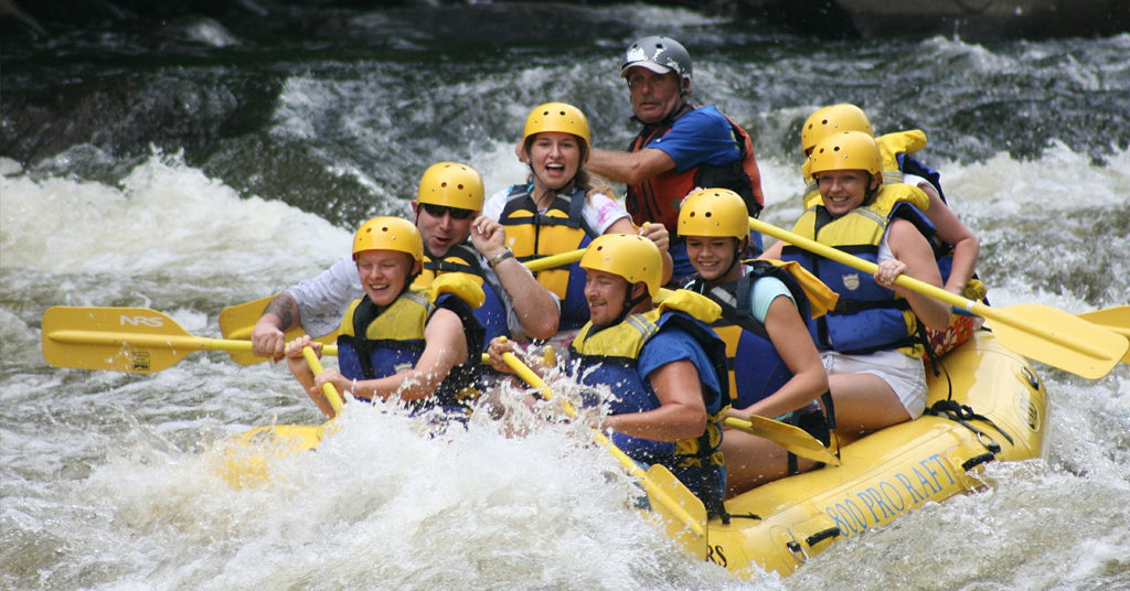 Whitewater Rafting with a RokPak Pioneer Series